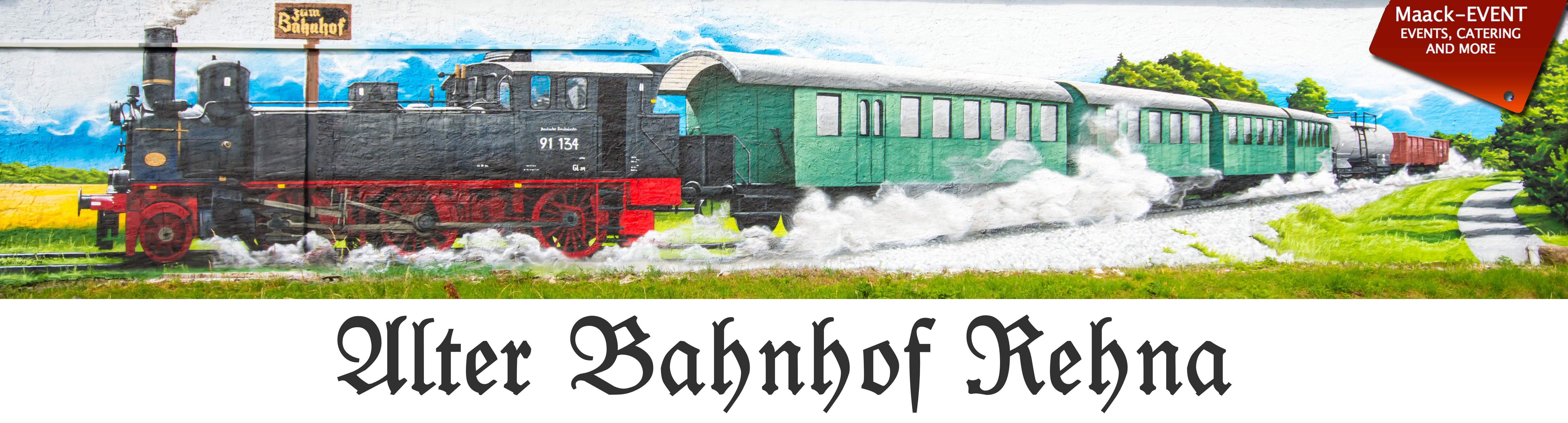 Alter Bahnhof Rehna Logo